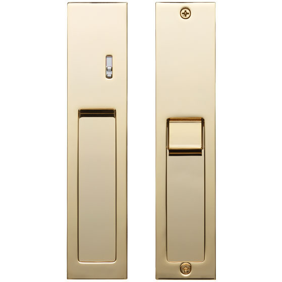Recessed Handle Integrated With Privacy Lock Products Kawajun Japanese Interior Hardware